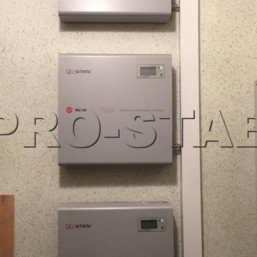 Установка стабилизаторов напряжения Штиль ИнСтаб is7000