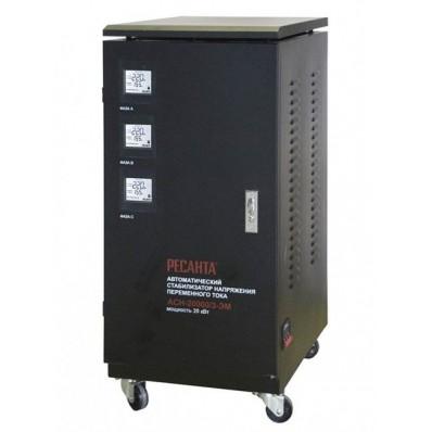 Ресанта - Стабилизатор напряжения Ресанта АСН-20000/3-ЭМ (трехфазный)