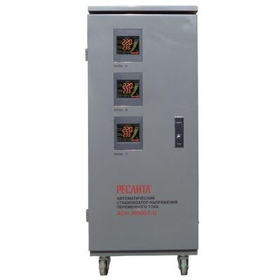 РЕСАНТА - Стабилизатор напряжения Ресанта АСН-30000/3-Ц (трехфазный)