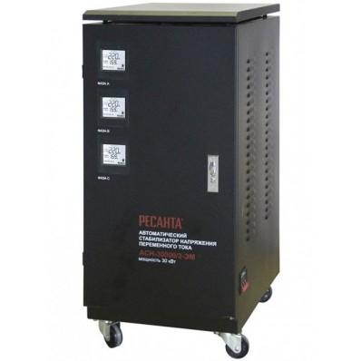 РЕСАНТА - Стабилизатор напряжения Ресанта АСН-30000/3-ЭМ (трехфазный)